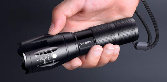 WdtPro Tactical Flashlight