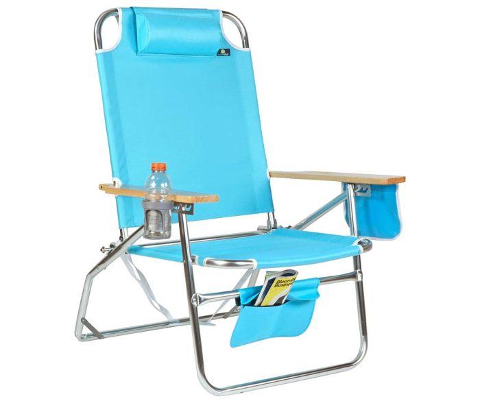 Big Jumbo Heavy Duty XL Aluminum Beach Chair