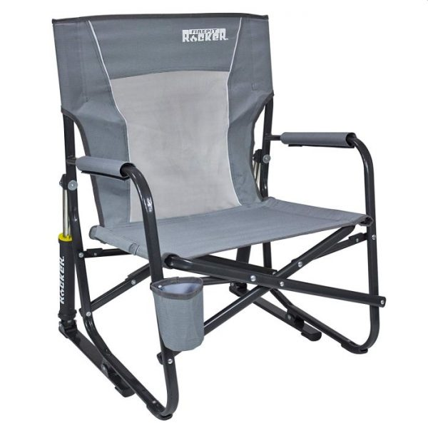 GCI Outdoor FirePit Rocker Portable Folding Low Rocking Chair
