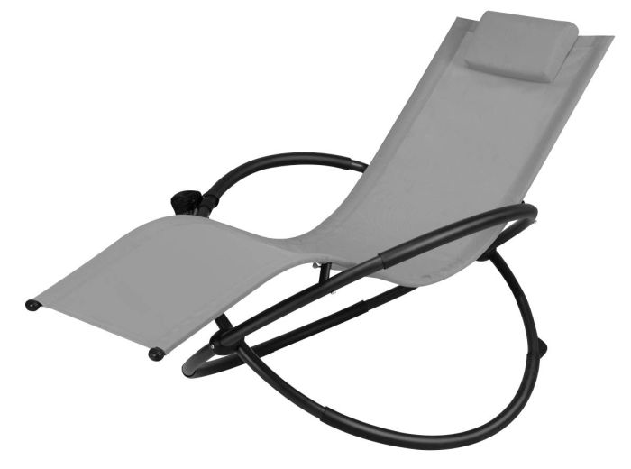 Goplus Outdoor Orbital Lounger Zero Gravity Chaise
