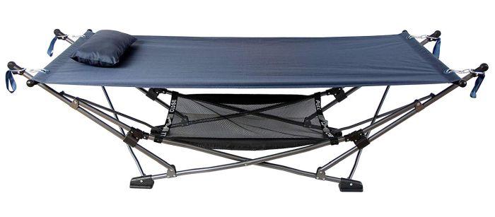 Mac Sports Outdoor Indoor Collapsible Portable Hammock