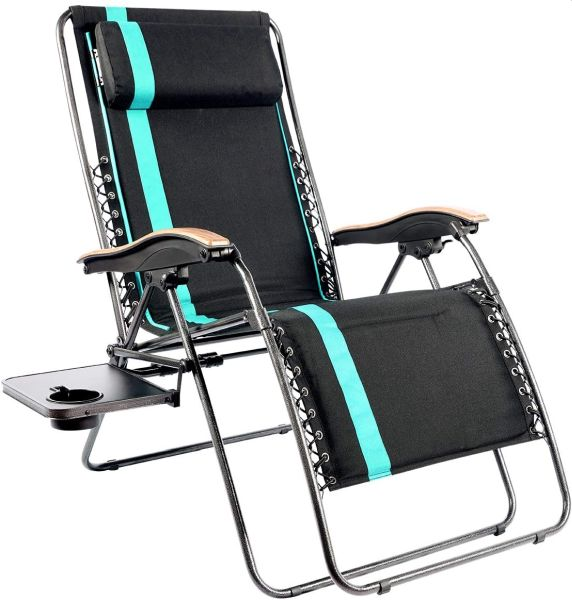 PORTAL Oversized Padded Zero Gravity Chair