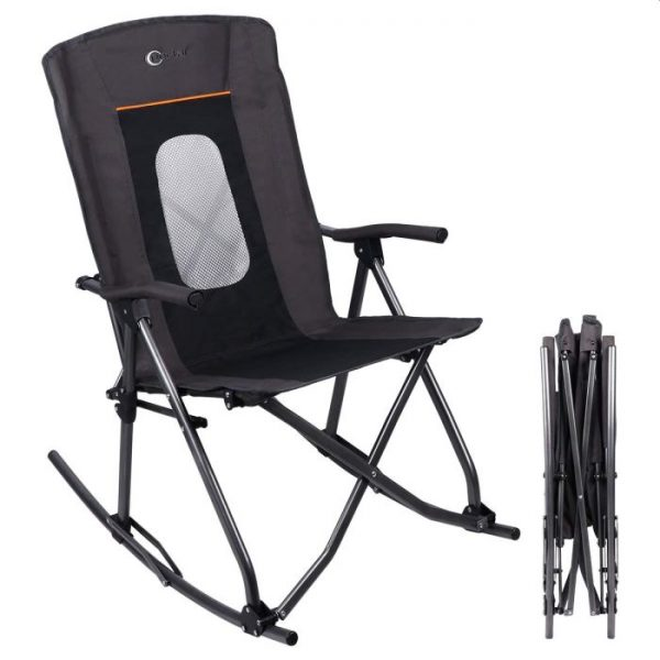 PORTAL Oversized Quad Folding Camping Chair High Back