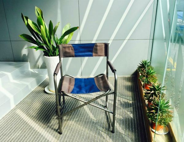 Portal Compact Steel Frame Folding Directors Chair