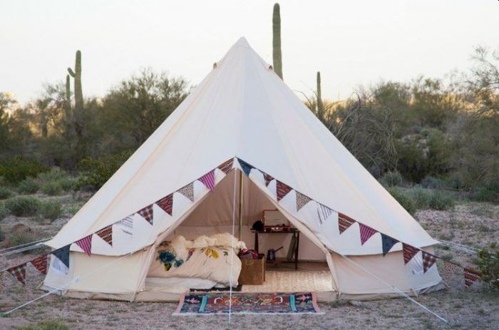 Stout Bell Cotton Canvas Tent