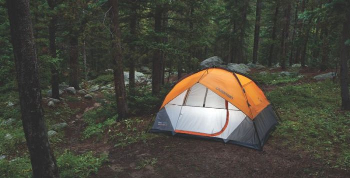 Coleman 5 Person Instant Dome Tent