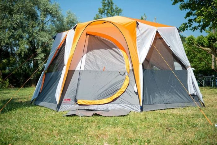 Coleman Octagon Tent 6-8 person