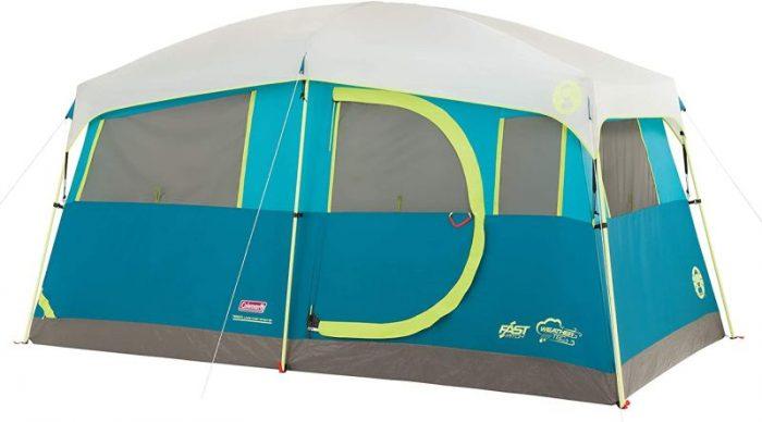 Coleman Tenaya Lake Lighted Fast Pitch Cabin Tent