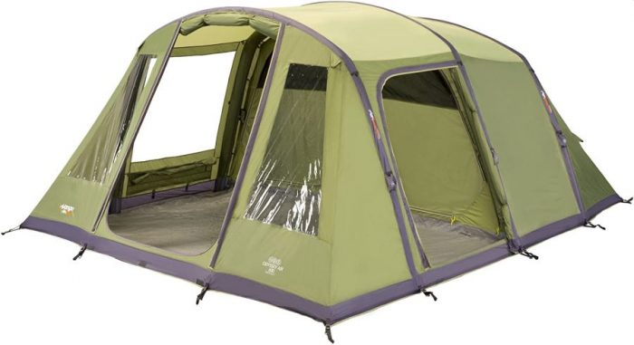 Vango Odyssey Inflatable Family Tunnel Tent Airbeam 600