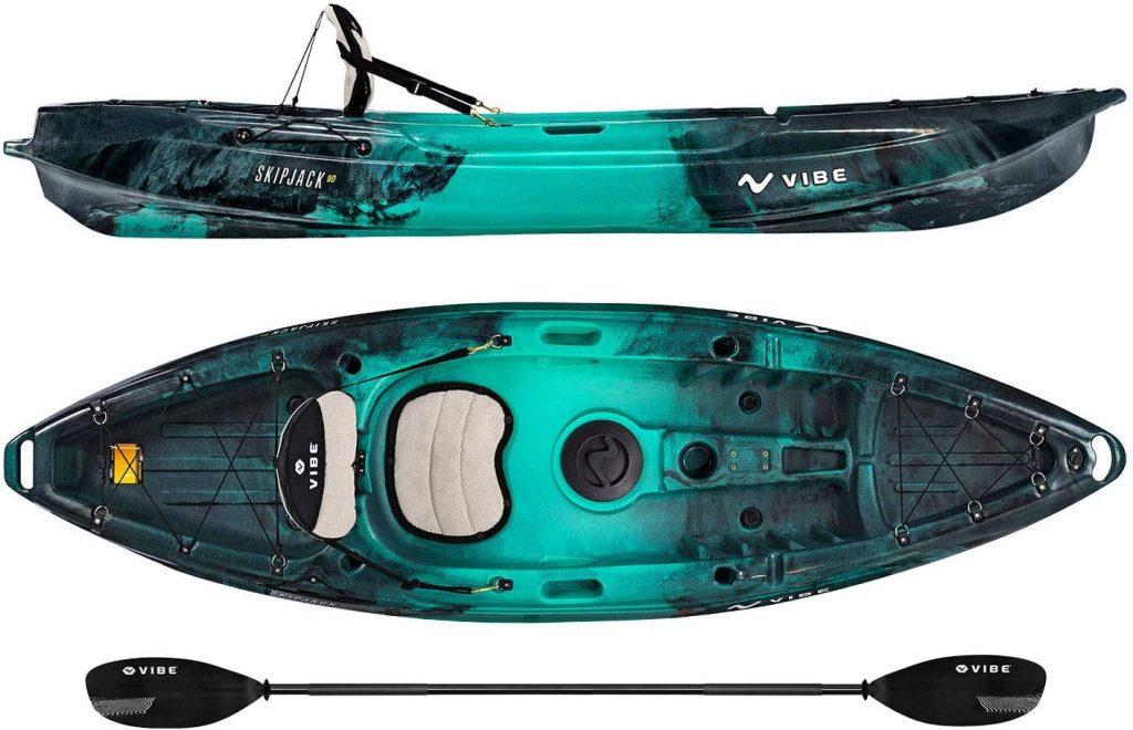 Vibe Kayaks Skipjack 90 Fishing Kayak
