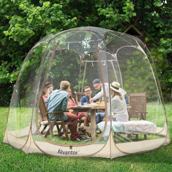 Alvantor Winter Screen House Room Camping Tent