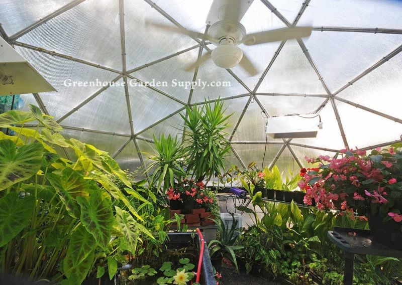 Greenhouse Garden Supply Geodesic Dome Tent