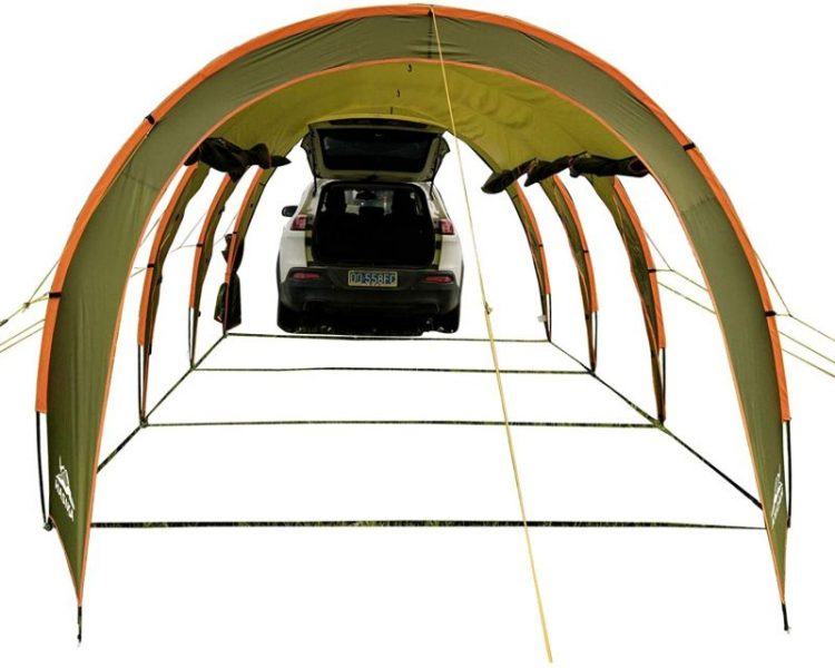 Hasika Family Camping Tunnel Tent Top Canopy Cover