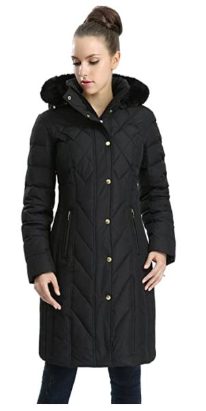 BGSD Women's Addi Waterproof Down Parka Coat