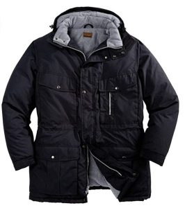 Boulder Creek by Kingsize Men's Big & Tall Fleece-Lined Parka