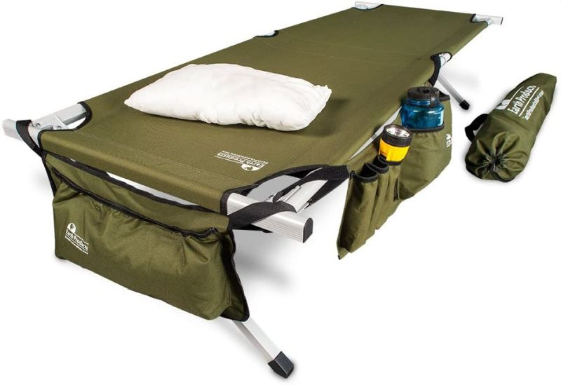 Earth Ultimate Extra Strong Military Style Folding Camp Cots