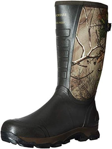 LaCrosse Men's 4xAlpha Waterproof Hunting Snake Boot