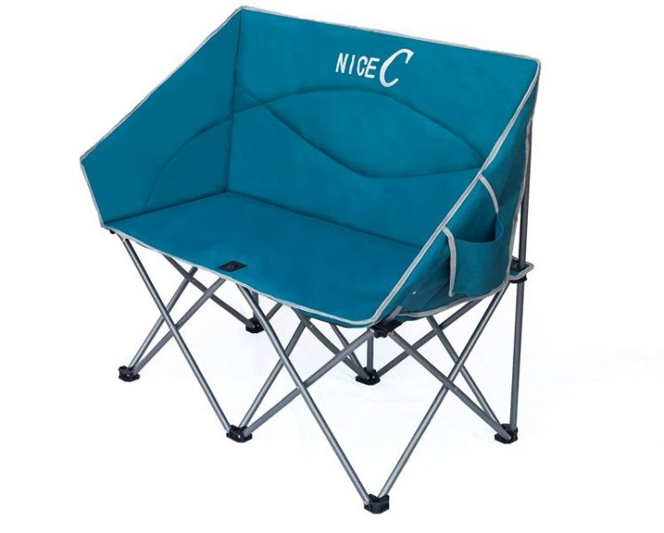 NiceC Double Camping Chair, Loveseat
