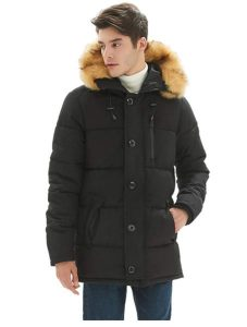 PUREMSX Mens Winter Jacket