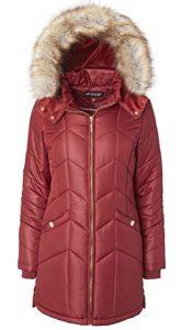 Sportoli Women Long Down Alternative Winter Puffer Coat