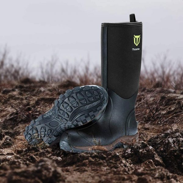 TIDEWE Rubber Neoprene Boots for Hunting