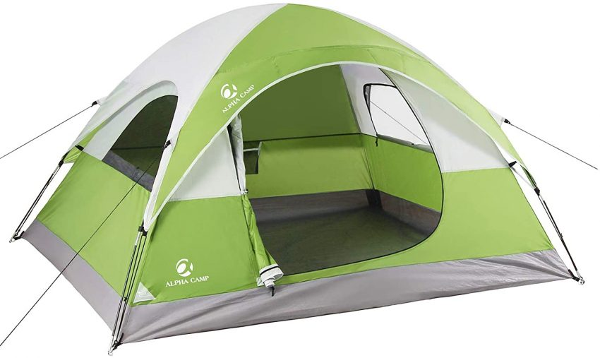 ALPHA CAMP 2/3 Person Camping Dome Tent