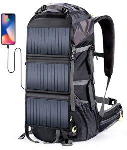Eceen External Frame Hiking Backpack 68L