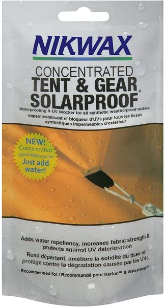 Nikwax Concentrated Tent & Gear Solar Proof Waterproofing