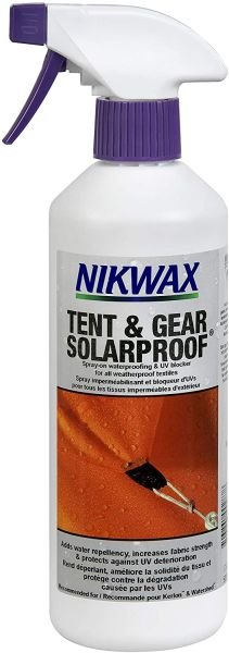 Nikwax Tent and Gear Cleaning, Waterproofing and UV Protection Spray