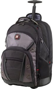 Wenger Luggage Synergy Padded Wheeled Laptop Bag with Trolley Handle