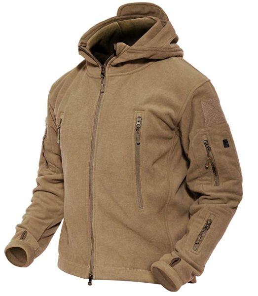 MAGCOMSEN Men's Hoodie Fleece Jacket