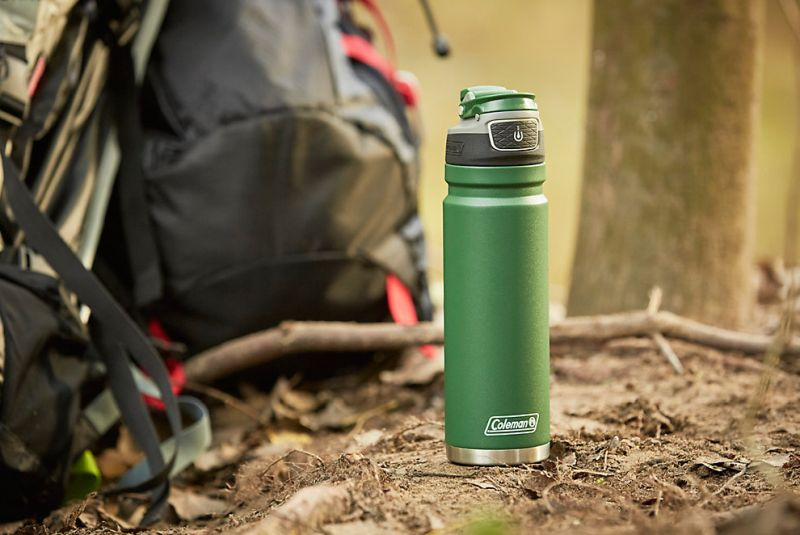 Coleman Autoseal Freeflow Stainless Steel Water Bottle